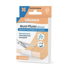 Lifemed Wund-Pflaster 0,5 m x 6 cm hautfarben Allround