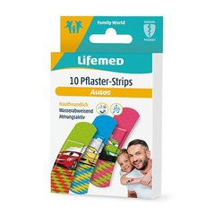 10 Lifemed Pflaster-Strips 6,0 cm x 1,7 cm Autos