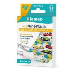 Lifemed Wund-Pflaster 0,5 m x 6 cm Autos