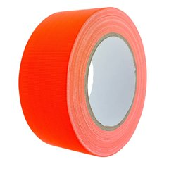 Gewebeband NEON ORANGE 50mm x 25m